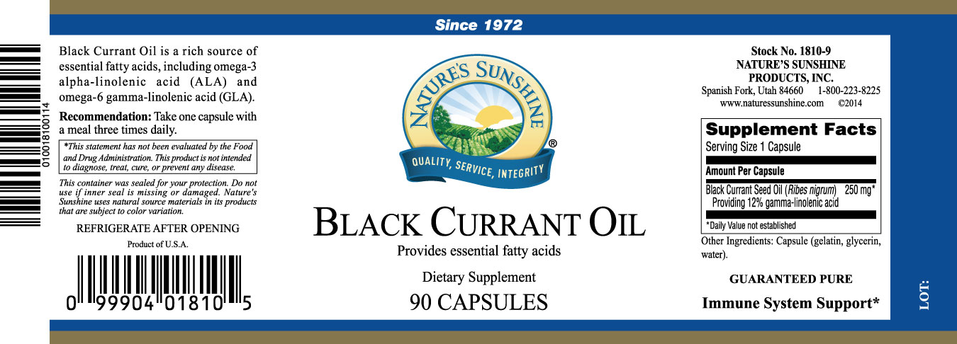 Product Label