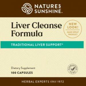 Nature's Sunshine liver cleanse formula label