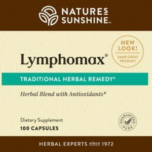 Nature's Sunshine Lymphomax label
