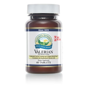 Natures Sunshine Valerian Root Time-Release