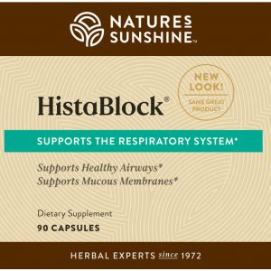 Nature's Sunshine HistaBlock Label