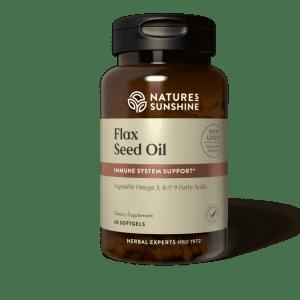 Nature's Sunshine Flax Seed Oil