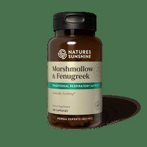 Nature's Sunshine Marshmallow & Fenugreek