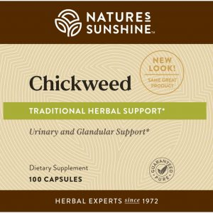 Nature's Sunshine Chickweed Label