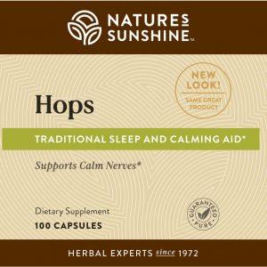 Nature's Sunshine Hops Label