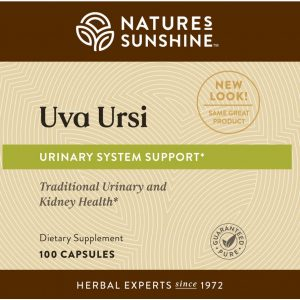 Nature's Sunshine Uva Ursi Label