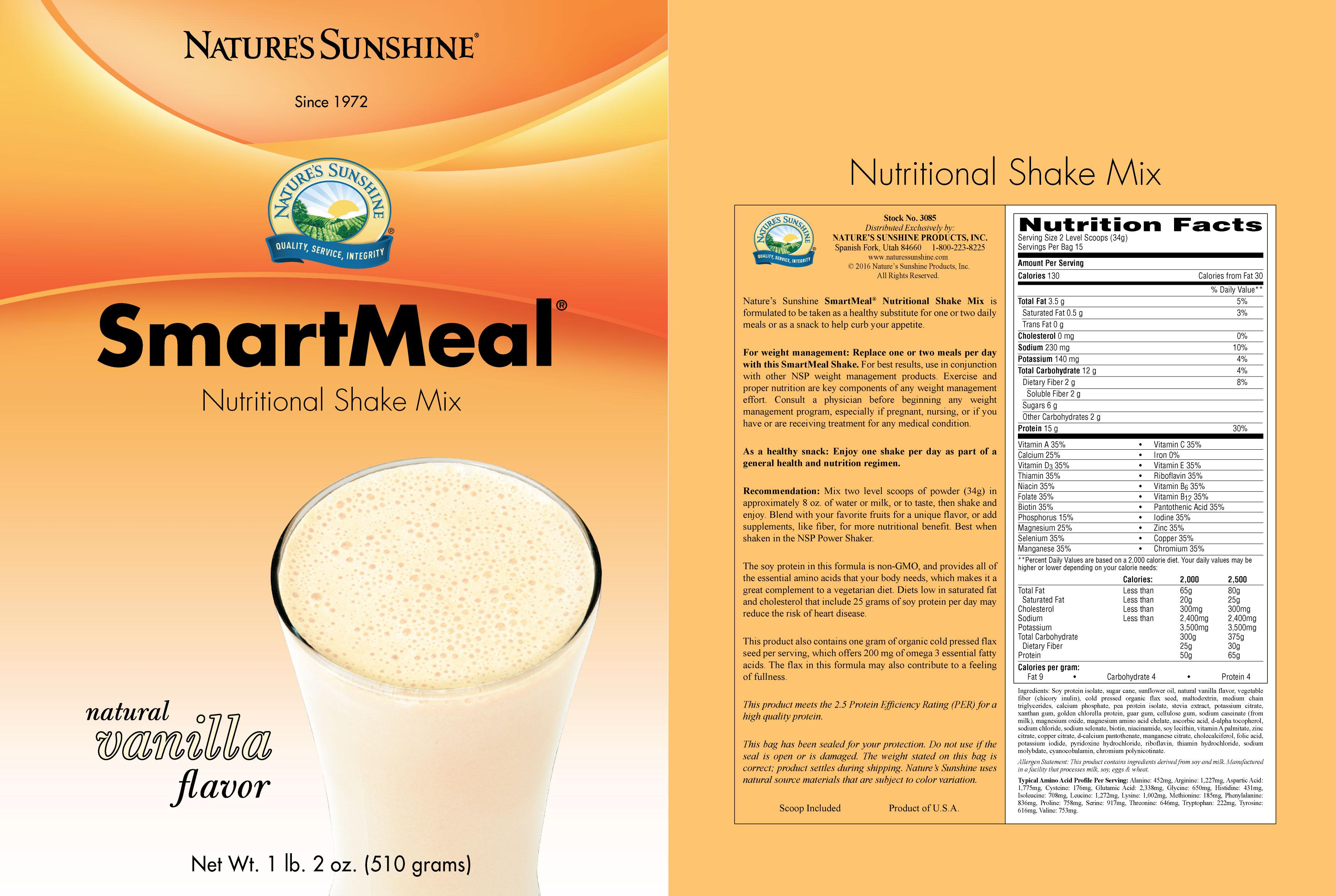 Smart Meal Nature S Sunshine