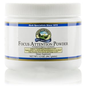 Natures Sunshine Focus Attention Powder