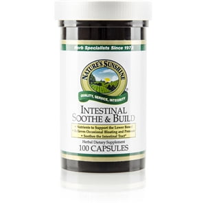 Intestinal Soothe And Build By Nature S Sunshine