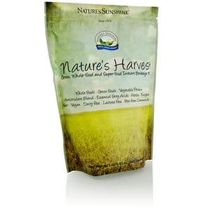 harvest nature natures sunshine drink liquids mixes supplements servings label whole mix food health shakes