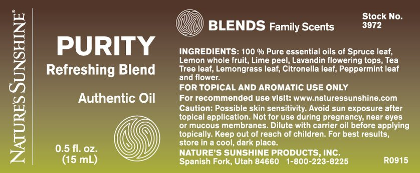 Nature Sunshine Oil Blends