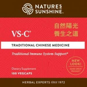 Nature's Sunshine VS-C Label