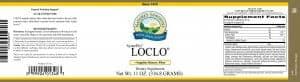 Nature's Sunshine loclo label