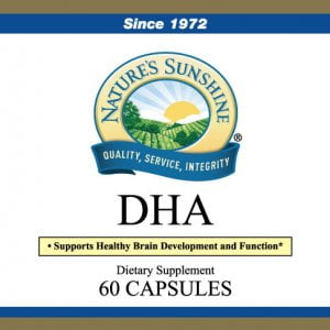 Nature's Sunshine DHA label