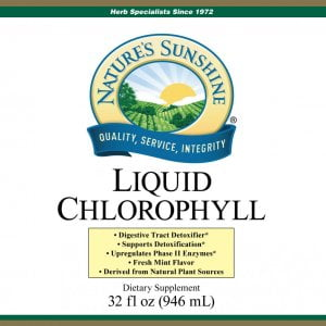 Nature's Sunshine liquid chlorophyll