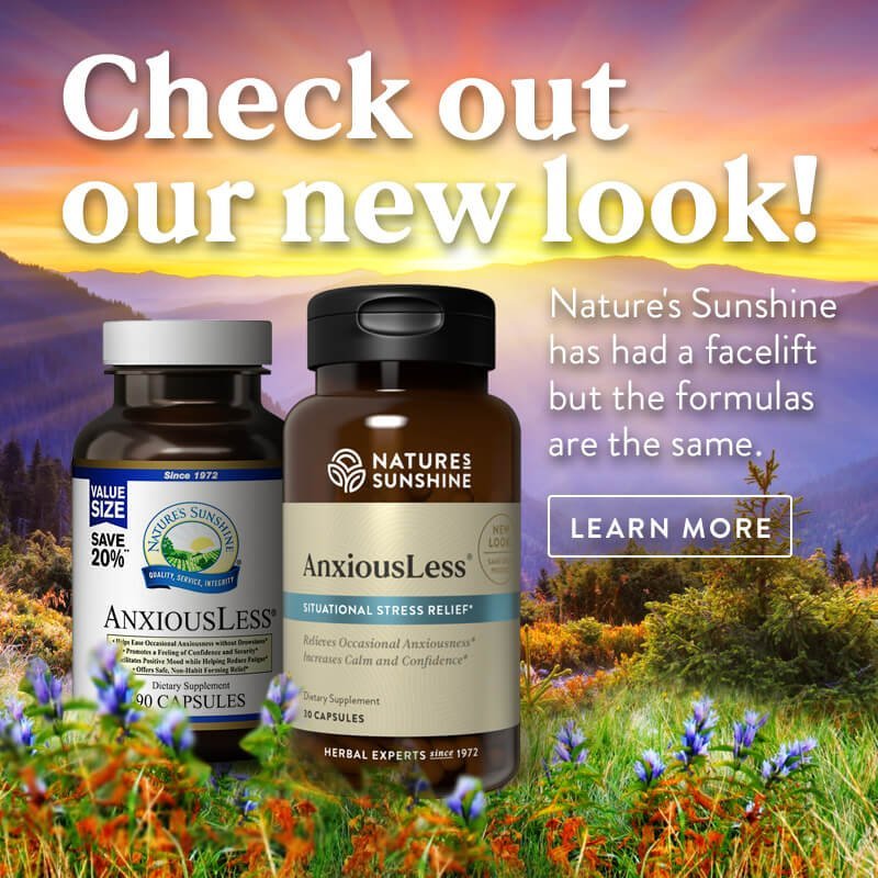 Check out our new look. What has changed at Nature's Sunshine