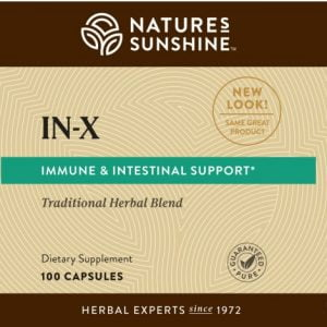 Nature's Sunshine IN-X Label