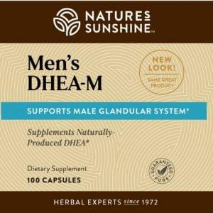 Nature's Sunshine DHEA-M Label